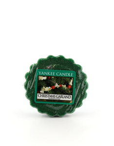 Yankee Candle Tarts/Wax Melts Christmas Garland Green