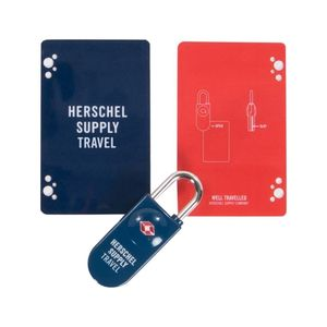 Herschel Tsa Card Lock Navy/Red