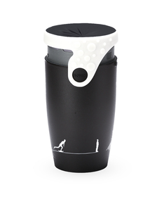 Twizz Neolid Gustave Travel Mug Black/White