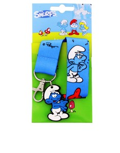 Smurfs Jokey Lanyard with Silicone Clip