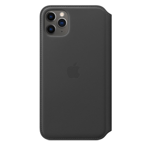 Apple Leather Folio Black for iPhone 11 Pro Max