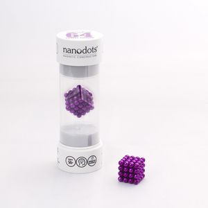 Nanodots 64 Purple Magnetic Dots