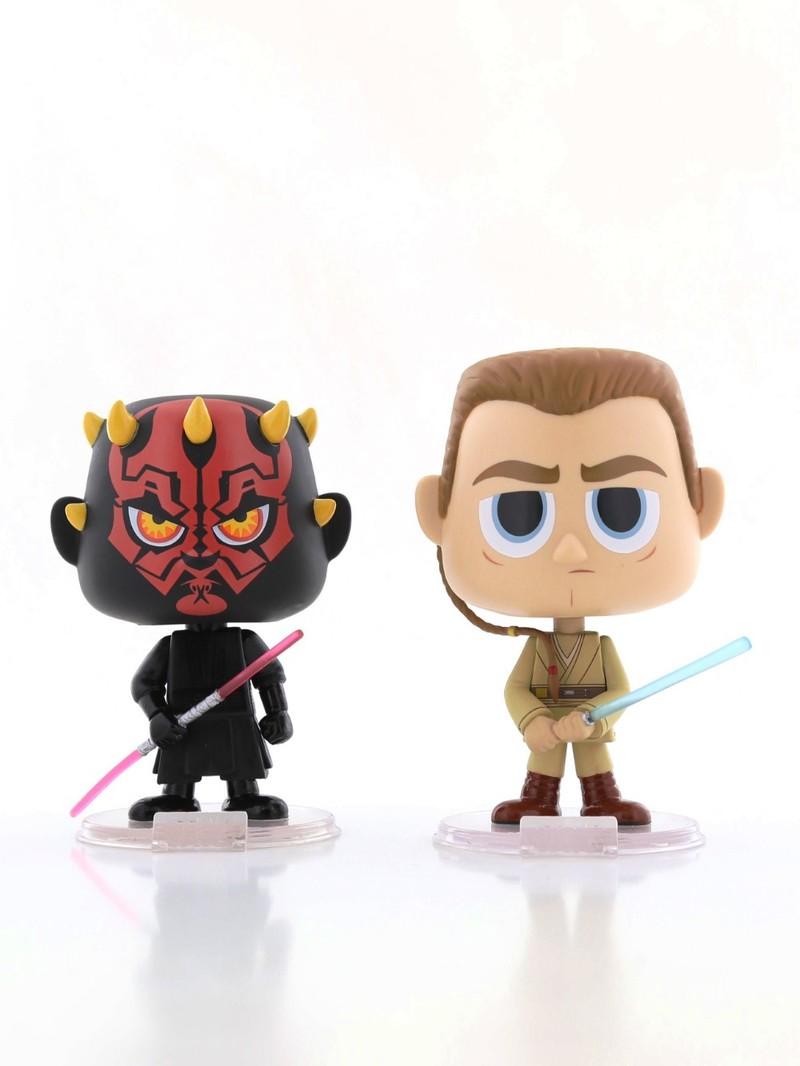 Funko Pop Star Wars Darth Maul & Obi Wan Vinyl Figures [Set of 2]