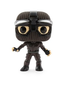 Funko Pop Marvel Spiderman Far From Home Stealth Suit Goggles Up Vinyl Figure