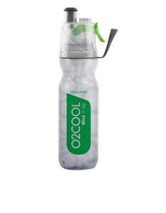 O2Cool Green Arcticsqueeze Mist N Sip 18 Oz Water Bottle