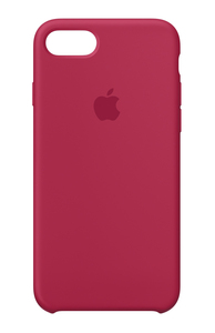 Apple Silicone Case Rose Red for iPhone 8/7