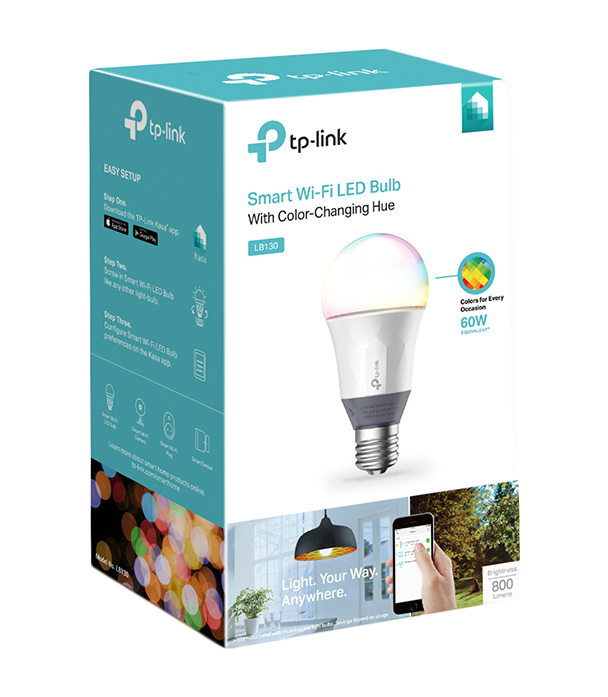 Tp Link Wi Fi Led Bulb With Color Changing Hue