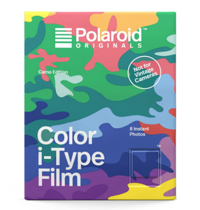 Polaroid Color Film for i-Type Camo Edition