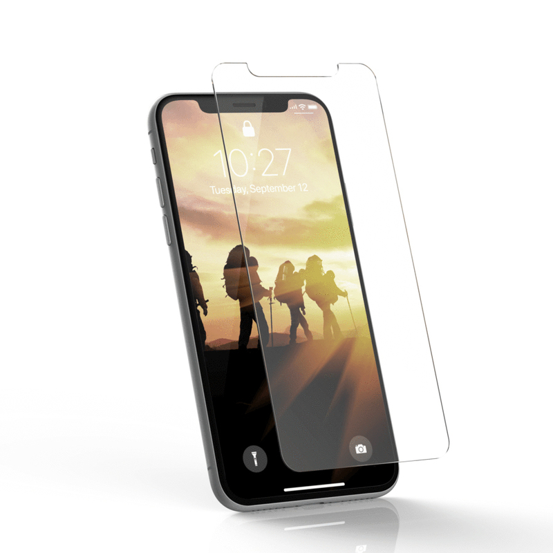 pretty nice 7a15e c3087 UAG Anti-Finger Print Tempered Glass Screen Protector for iPhone X