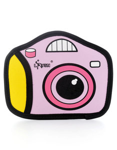 JumpFromPaper Cartoon Camera/Stereo Pouch