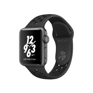 Apple Watch Nike+ 38mm Sport Band Anthracite/Black With Space Grey Aluminium Case