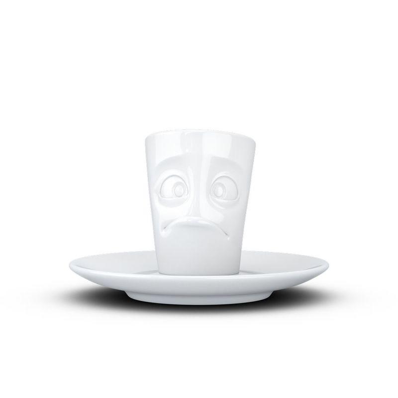 Handle Tassen 58 Mug White Products 100ml Espresso With Buffled 4Ac3qRj5L