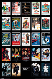 James Bond Movie Posters Maxi Poster [61 x 91.5 cm]