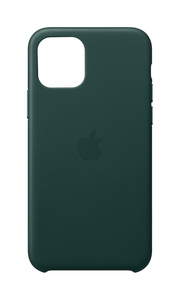 Apple Leather Case Forest Green for iPhone 11 Pro