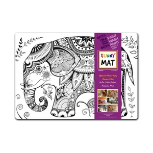 Funny Mat Activity Placemat Elephant