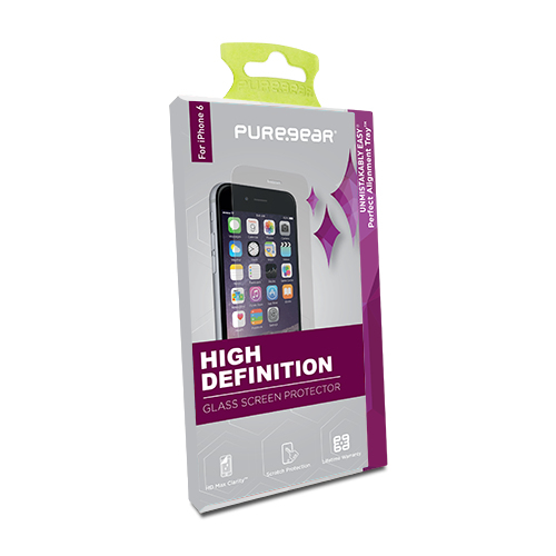 size 40 7c53b 1b961 Puregear Hd Glass Screen Protector with Tray for iPhone X