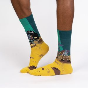Sock It To Me Men's Crew Skeleton Crew Socks
