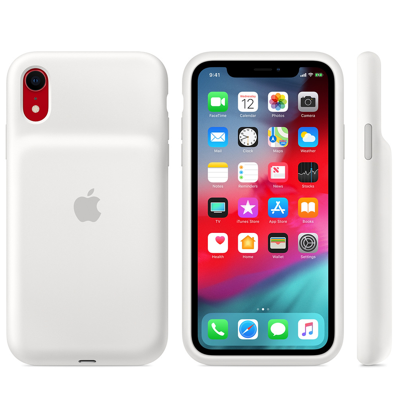 huge selection of e532d a9fcd Apple Smart Battery Case White for iPhone XR