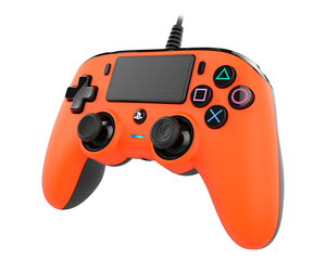 Nacon Wired Compact Controller Orange for PS4