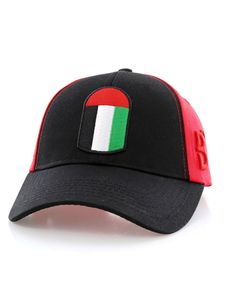 f5ffe26849d98 B360 B Proud Uae Unisex Cap Red Black