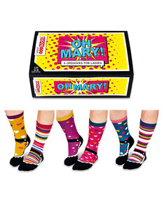 United Oddsocks Oh Mary Womens Socks [3 Pairs]