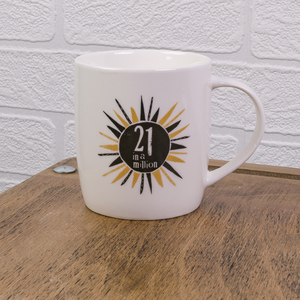 The Bright Side 21 In A Million Mug