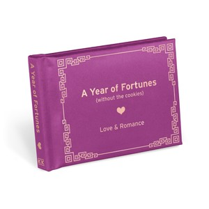 Knock Knock A Year Of Fortunes Love & Romance Notebook