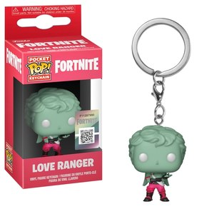 Funko Pop Games Fortnite Love Ranger Vinyl Keychain