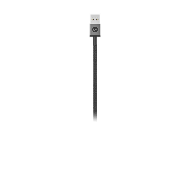 Mophie USB-A to Micro/USB-C/Lightning Cable 1m Black