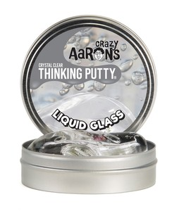 Crazy Aaron's Liquid Glass Crystal Clear Thinking Putty