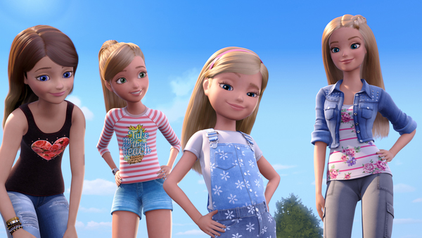 barbie and sisters