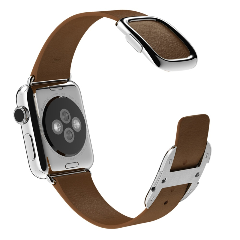 Apple Watch Brown Modern Buckle 38mm Small