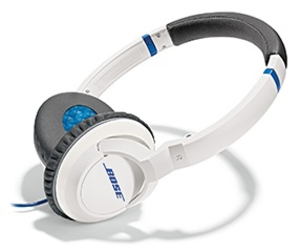 Bose Soundtrue White Headphones