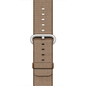 Apple Watch Woven Nylon Toasted Coffee/Caramel 38mm