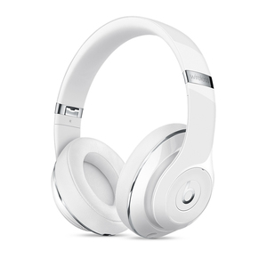 Beats By Dr Dre Studio Gloss White Wireless Headphones
