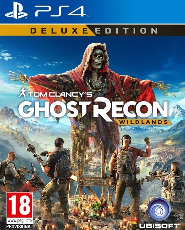 Tom Clancy Games For Ps4 : Tom clancy s ghost recon wildlands games ps