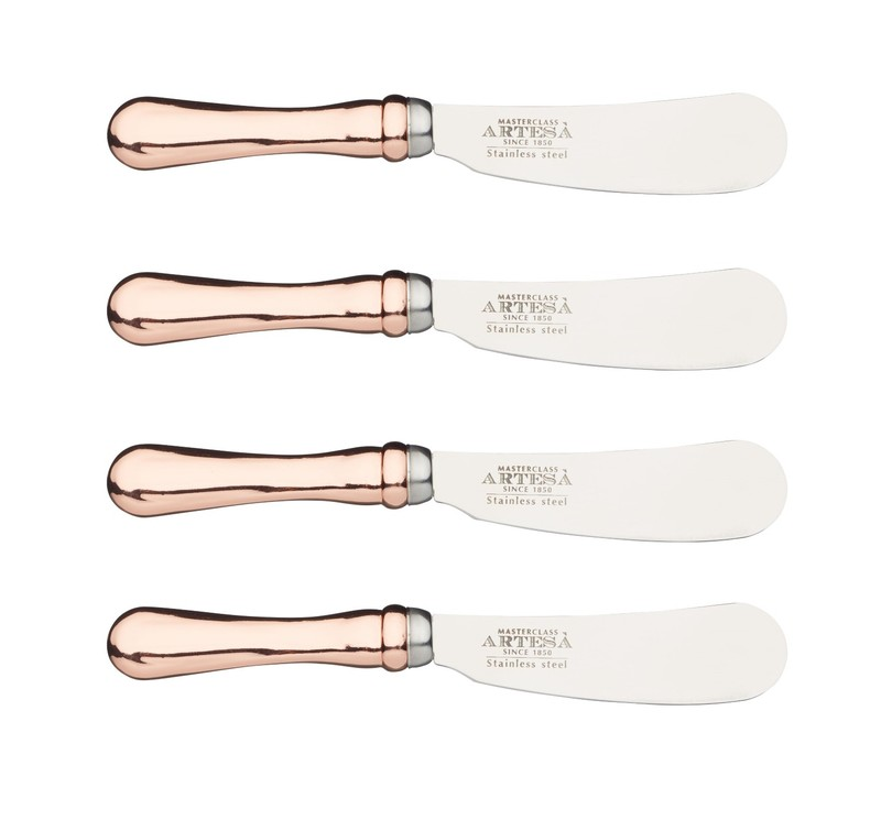 Kitchencraft Artesa Stainless Steel Butter Knife Set