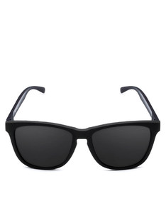 Emoji Total Custom Rubber Black/Black Adult Sunglasses