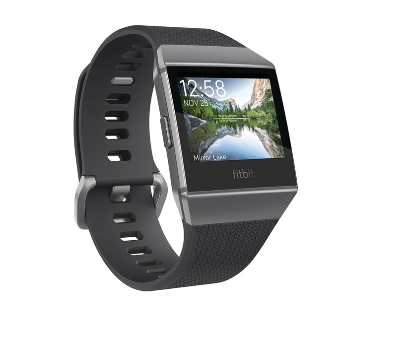 Fitbit Ionic Charcoal/Smoke Grey Smart Watch
