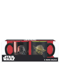 Abystyle Star Wars Mini-Mugs Vader vs Yoda [Set of 2]
