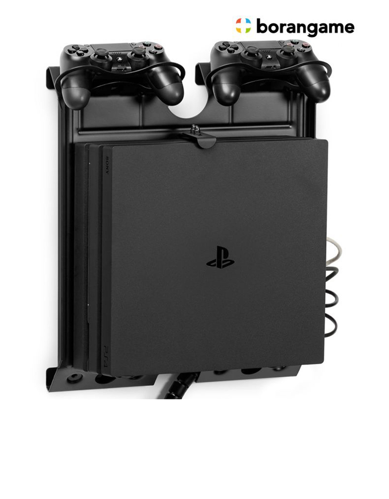 borangame gameside game console vertical wall mount black. Black Bedroom Furniture Sets. Home Design Ideas