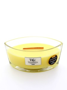 Woodwick Large Scented Candle Lemon