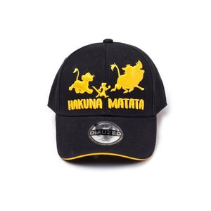 Disney Lion King Hakuna Matata Silhouette Adjustable Cap