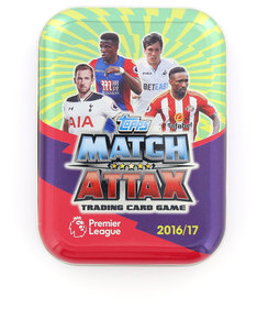 Topps Premier League 17 Trading Card Mini-Tin