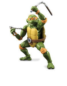 Bandai S.H.Figuarts Michelangelo Teenage Mutant Ninja Turtles 5.5 Inch Figure