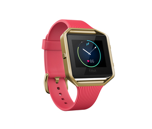 Fitbit Blaze Slim Pink/Gold Large Activity Tracker