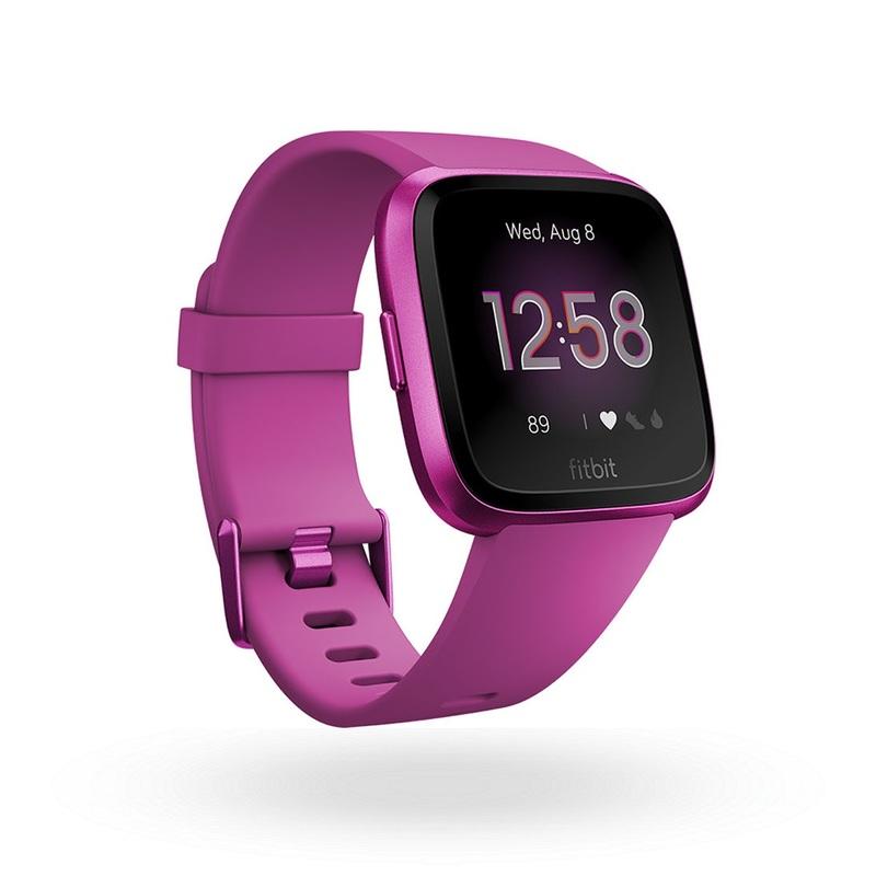 Fitbit Versa Lite Smart Watch Mullberry/Aluminum