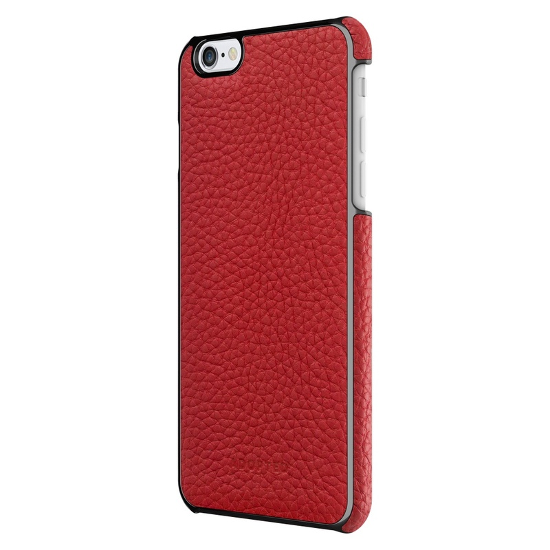 Adopted Leather Wrap Case Cayenne/Gunmetal Iphone 6 Plus