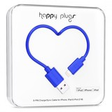 Happy Plugs Lightning To Usb Charge/Sync Cobalt Cable 2M