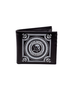Black Panther Made in Wakanda Bifold Men's Wallet Black